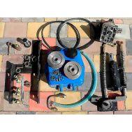 Фото гидравлическая система навесного механизма DW 120, DW 120B